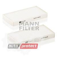 Фото 1 - MANN-FILTER CU 1811-2 фильтр салонна