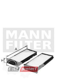 Фото 1 - MANN-FILTER CU 1930-2 фильтр салонна