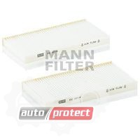 Фото 1 - MANN-FILTER CU 2214-2 фильтр салонна