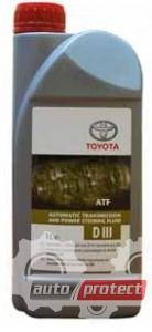 Фото 1 - Toyota ATF Dexron III для АКПП / ГУР (EU) Оригинальное трансмиссионное масло