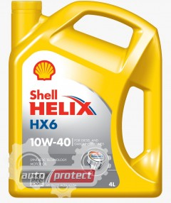 Фото 1 - Shell HX6 10W-40 Моторное масло 2