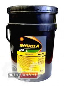 Фото 1 - Shell Rimula R4 L 15W-40 Моторное масло