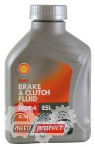 Фото 1 - Shell ESL Brake Clutch fluid DOT 4 Тормозная жидкость