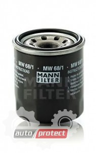Фото 1 - MANN-FILTER MW 68/1 масляный фильтр