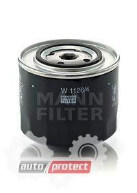Фото 1 - MANN-FILTER W 1126/4 масляный фильтр