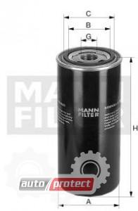 Фото 1 - MANN-FILTER W 1150/7 масляный фильтр