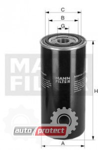 Фото 1 - MANN-FILTER W 12 205/1 масляный фильтр