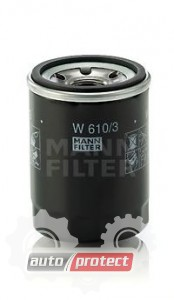 Фото 1 - MANN-FILTER W 610/3 масляный фильтр