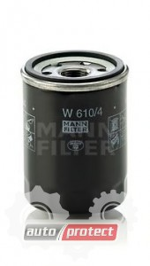 Фото 1 - MANN-FILTER W 610/4 масляный фильтр