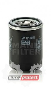 Фото 1 - MANN-FILTER W 610/6 масляный фильтр