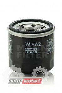 Фото 1 - MANN-FILTER W 67/2 масляный фильтр