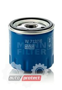 Фото 1 - MANN-FILTER W 712/16 масляный фильтр