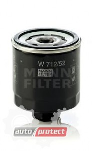 Фото 1 - MANN-FILTER W 712/52 масляный фильтр
