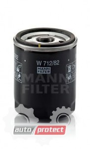 Фото 1 - MANN-FILTER W 712/82 масляный фильтр