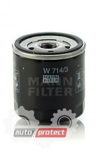 Фото 1 - MANN-FILTER W 714/3 масляный фильтр