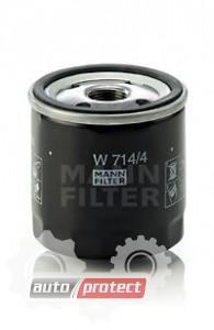 Фото 1 - MANN-FILTER W 714/4 масляный фильтр