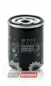 Фото 1 - MANN-FILTER W 717/2 масляный фильтр