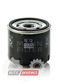 Фото 1 - MANN-FILTER W 79 масляный фильтр