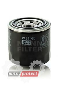 Фото 1 - MANN-FILTER W 811/80 масляный фильтр
