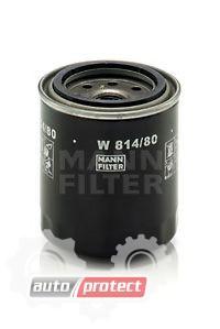 Фото 1 - MANN-FILTER W 814/80 масляный фильтр