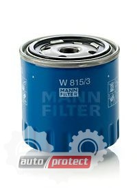 Фото 1 - MANN-FILTER W 815/3 масляный фильтр