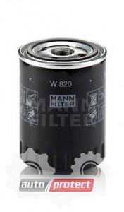 Фото 1 - MANN-FILTER W 820 масляный фильтр