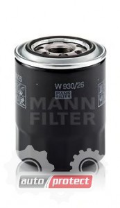 Фото 1 - Mann Filtes W 930/26 масляный фильтр