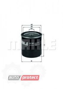 Фото 1 - MAHLE OC 601 масляный фильтр