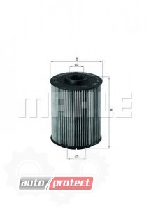 Фото 1 - MAHLE OX 160D масляный фильтр