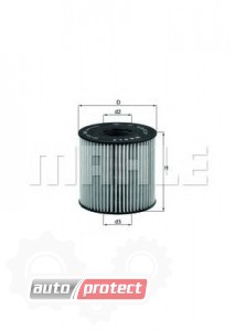 Фото 1 - MAHLE OX 210D масляный фильтр