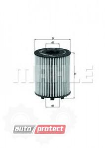 Фото 1 - MAHLE OX 371D масляный фильтр