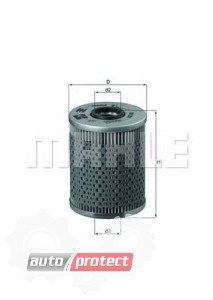 Фото 1 - MAHLE OX 68D масляный фильтр