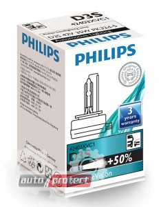 Фото 1 - Philips X-TreamVision D3S 42V 35W Автолампа ксенон, 1шт 1