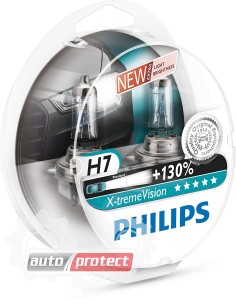 ���� 1 - Philips X-TreamVision H7 12V 55W ��������� �������, 2��