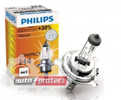 Фото 1 - Philips Vision H4 12V 60/55W Автолампа галоген, 1шт