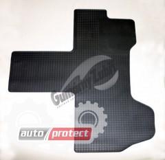 Фото 1 - Doma Коврики в салон для Fiat Ducato 06-, резиновые 1шт