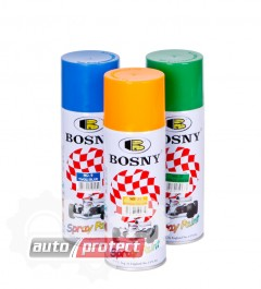 Фото 1 - Bosny Acrylic Акриловая автоэмаль спрей, 400мл