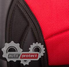 Фото 2 - Vitol CN 12527 BK/RD Накидка на сиденье черно-красная, 1шт