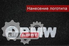 Фото 3 - EMC Elegant Коврики в салон для Citroen С 1 с 2005-08 текстильные черные 5шт