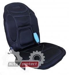 Фото 3 - Vitol M 96029 BK Накидка на сиденье с подогревом, массажером, пульт, черная 1шт