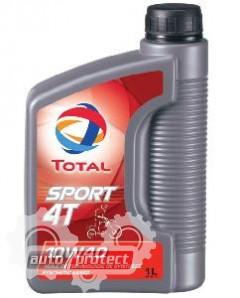 Фото 1 - Total Sport 4T 10W-40 Синтетическое масло 4Т двигателей для мототехники