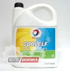 Фото 1 - Total Coolelf Plus -37С Антифриз cине-зелёный готовый 1
