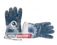 Фото 1 - InterTool Перчатки маслобензостойкие синие