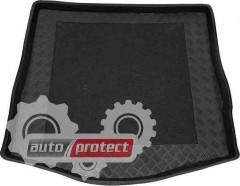 Фото 1 - TM Rezaw-Plast Коврики в багажник Ford Focus 2005-2011-> резино-пластиковые, седан, черный, 1шт
