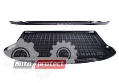 Фото 1 - TM Rezaw-Plast Коврики в багажник Ford Focus 2005-2011-> резино-пластиковые, хетчбэк, черный, 1шт