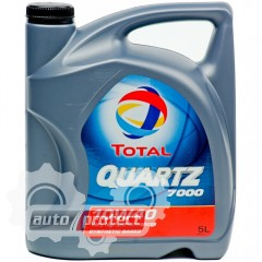 Фото 1 - Total Quartz 7000 10W-40 Полусинтетическое моторное масло