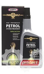 """Фото 1 - Wynns Присадка в бензин серии """"Золотая формула"""" WYNN`S Petrol System Treatment"""