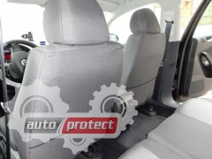 Фото 5 - EMC Elegant Classic Авточехлы для салона Ford Conect без столиков c 2013г (1+1)