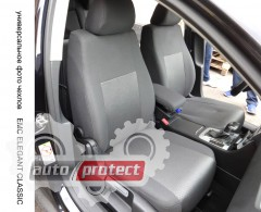 Фото 1 - EMC Elegant Classic Авточехлы для салона Kia Rio III седан с 2011г, цельный задний ряд