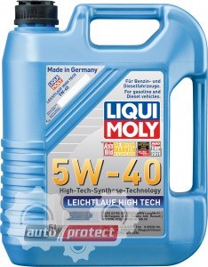 Фото 1 - Liqui Moly Leichtlauf High Tech 5W-40 Моторное масло